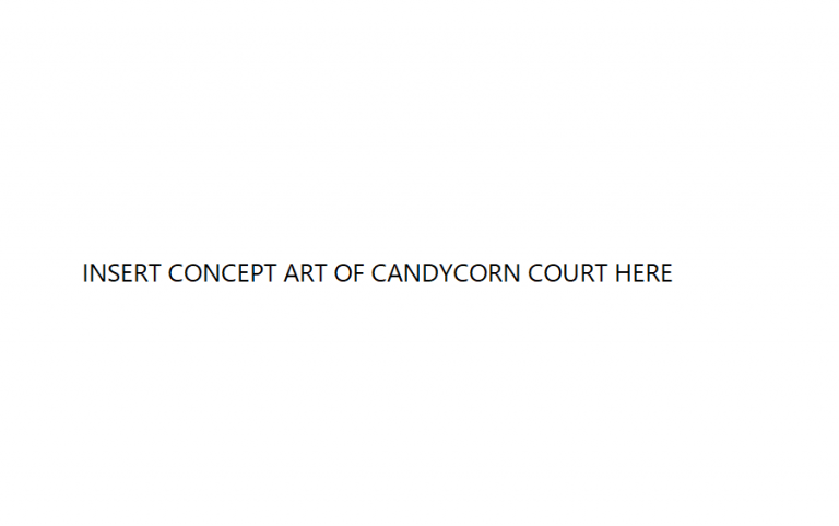 Candycorn Court Concept Image